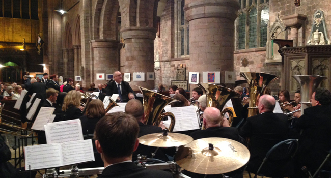 New choral works premiered at Shrewsbury Abbey